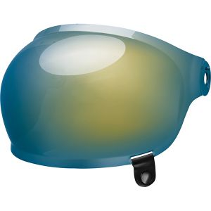 Bell Bullitt Bubble Visor - Dark Gold Iridium