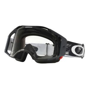 Oakley Airbrake MX Goggle (Jet Black Speed) Clear Lens
